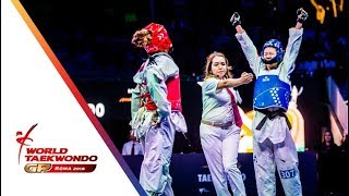 Roma 2018 World Taekwondo GP -Final [Female -67Kg] ZHANG, MENGYU(CHN) Vs WIET HENIN, MAGDA(FRA)
