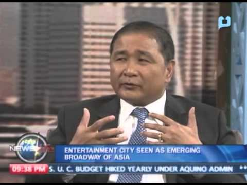 Entertainment city seen as emerging 'Broadway of Asia'