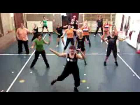 Dance For 1 Goal -- Waka Waka -- Zumba Class Driewegen 1 Netherlands video