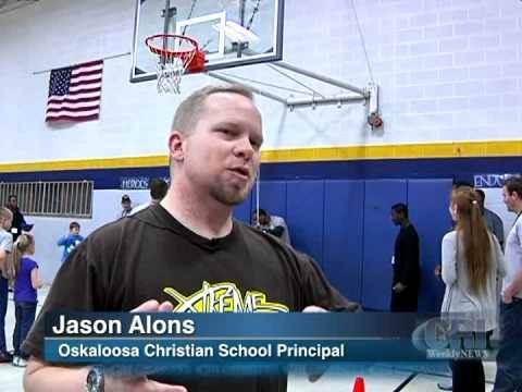 Oskaloosa Christian School Principal on Barnstormers Farewell - 03/03/2012