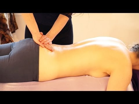 ASMR Massage Back & Glute Swedish Massage Therapy, How To Give A Massage For Women