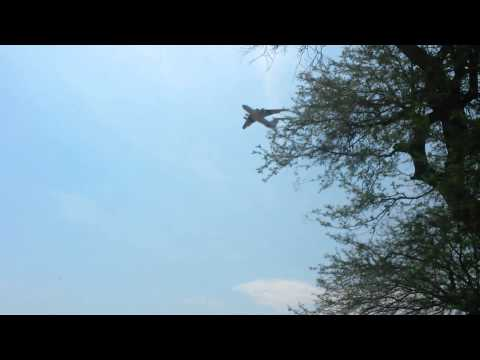 South Sudan Humanitarian Aid Air Drop