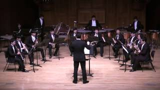 The Planets - Jupiter,the Bringer of Jollity G.T.Holst - KNUA Saxophone Ensemble