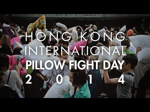 HONG KONG INTERNATIONAL PILLOW FIGHT DAY 2014