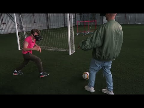 Тупой футбол, трэш игры и огромная зарядка