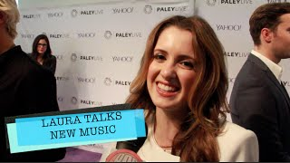LAURA MARANO TALKS CAST CELEB CRUSHES & NEW MUSIC AT PALEY CENTER
