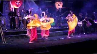 Allegro Sanaparane  Dikala Senja International Indonesian Mask Festival Iimf 2015
