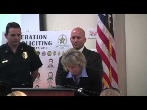 Press Conference: Child sex sting nets 15 arrests in St. Johns County