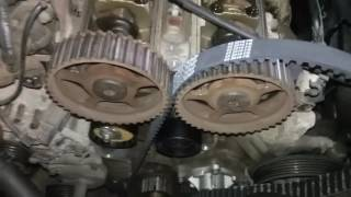 Timing belt replacement 01 ford focus 2.0 zetec dohc