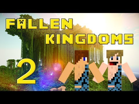 Fallen Kingdoms 2 : Siphano & Xef | Jour 2 - Minecraft video