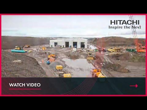 Hitachi Stoke Gifford Train Maintenance Centre - Time-lapse Video - January 2015