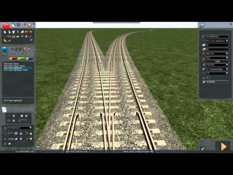 Train Simulator 2014 - Tutorial 1 (Route & Track Basics)