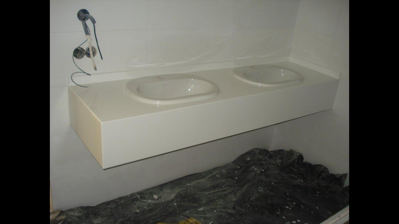 Столешница в ванную из гипсокартона