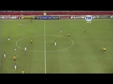 Barcelona SC 3: 0 Alianza Lima Copa Sudamericana 2014