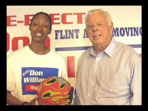 Deanna Nolan Endorses Don Williamson for Mayor of Flint Video