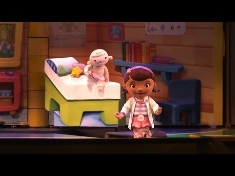 Doc McStuffins - Disney Junior Live on Stage New Segment - Disney's Hollywood Studios. Disney World