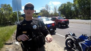 Cops vs Bikers 2018 | Chases, Getaways & Pullovers
