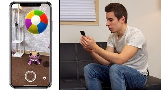 Top 9 New AR Games for iPhone X!