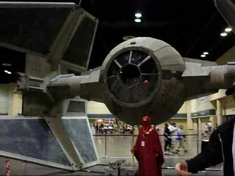 Full Scale Tie Interceptor 1:1  @ (Star Wars Celebration 5)