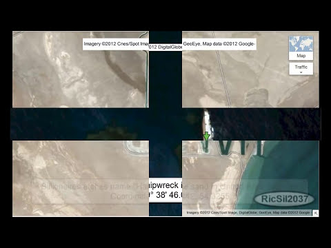 Google Map Secret Coordinates #3. Unusual and secret images as seen from outer space