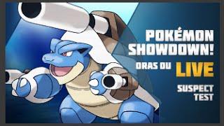 Pokemon ORAS OU Showdown Live: Aegislash Suspect ft. MegaMogwai