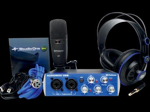 PRESONUS Audiobox USB Studio Bundle : Un pack complet ! (La Boite Noire)