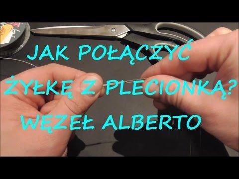 Jak Połaczyć żyłkę Z Plecionką ? I Alberto Knot I Poradnik Wędkarski