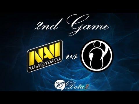 Na'Vi vs IG - Финал 2 Игра (The International 2) Русские Комментарии