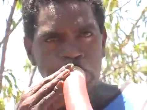 Marlangay' Yunupingu | Yothu Yindi yidaki player Video