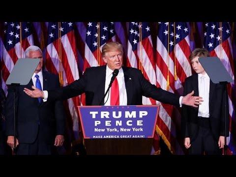 Donald Trump Wins U.S. Presidency