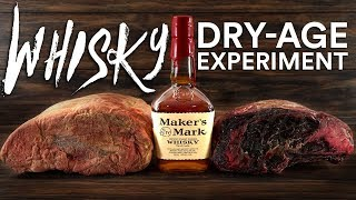 WHISKEY Dry Aged STEAKS Experiment!