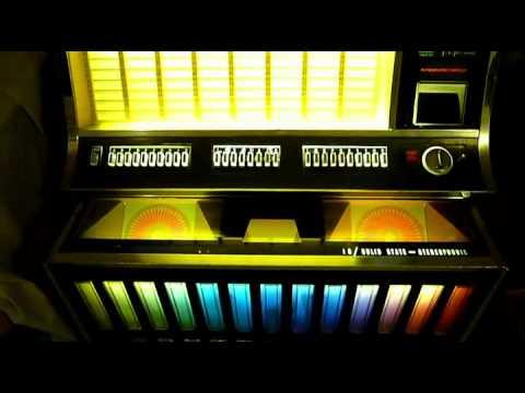 Rock Ola 442 Jukebox Sold Youtube