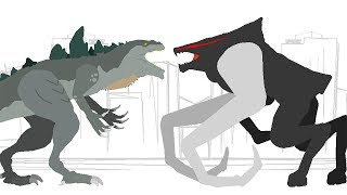 Zilla vs MUTO   Godzilla & Dinosaurs Cartoons - DinoMania