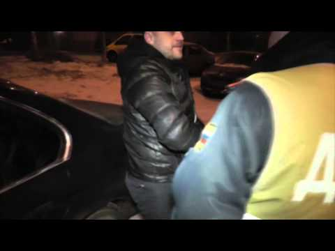 Бесправник на BMW X6. Место происшествия 27.11.2014