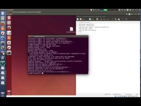 Install OpenOffice Ubuntu 14.04 (Установка OpenOffice Ubuntu 14.04)