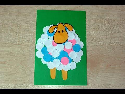 Детские поделки с цветной бумаги 34