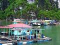 HaLong Bay, House Boats, VietNam
