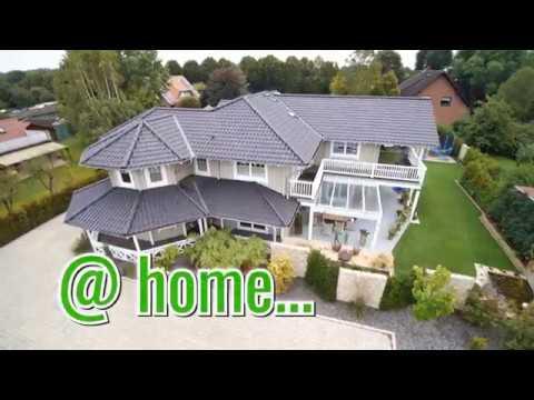 Nordic-Haus @home - American Style Blockhaus für 2 Generationen