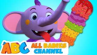 ICE CREAM SONG | 3D Nursery Rhymes For Kids | Songs For Children By All Babies Channel