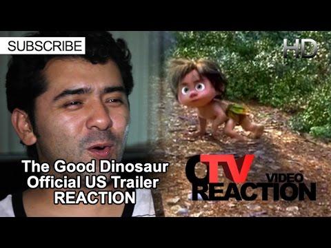 The Good Dinosaur - Official US Trailer REACTION!
