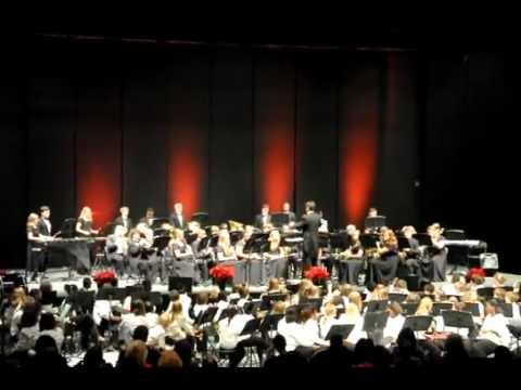 2011 James Island Charter High School Band Christmas Concert.AVI