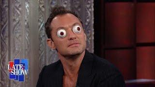 Jude Law Excels At Ping Pong Eyeball Acting