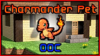 Minecraft: Charmander Pet | Only One Command (Suggested by Treecko24)
