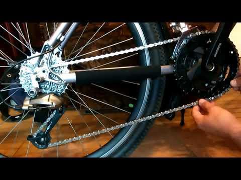 Новая цепь велосипеда - что нужно сделать изначально