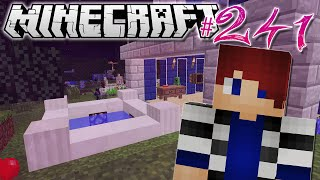 Minecraft | HOUSE WITH A HOT TUB!! | Diamond Dimensions Modded Survival #241