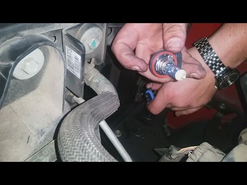 2007 Chevy Silverado headlight bulb change ( how I did it. step by step in description)