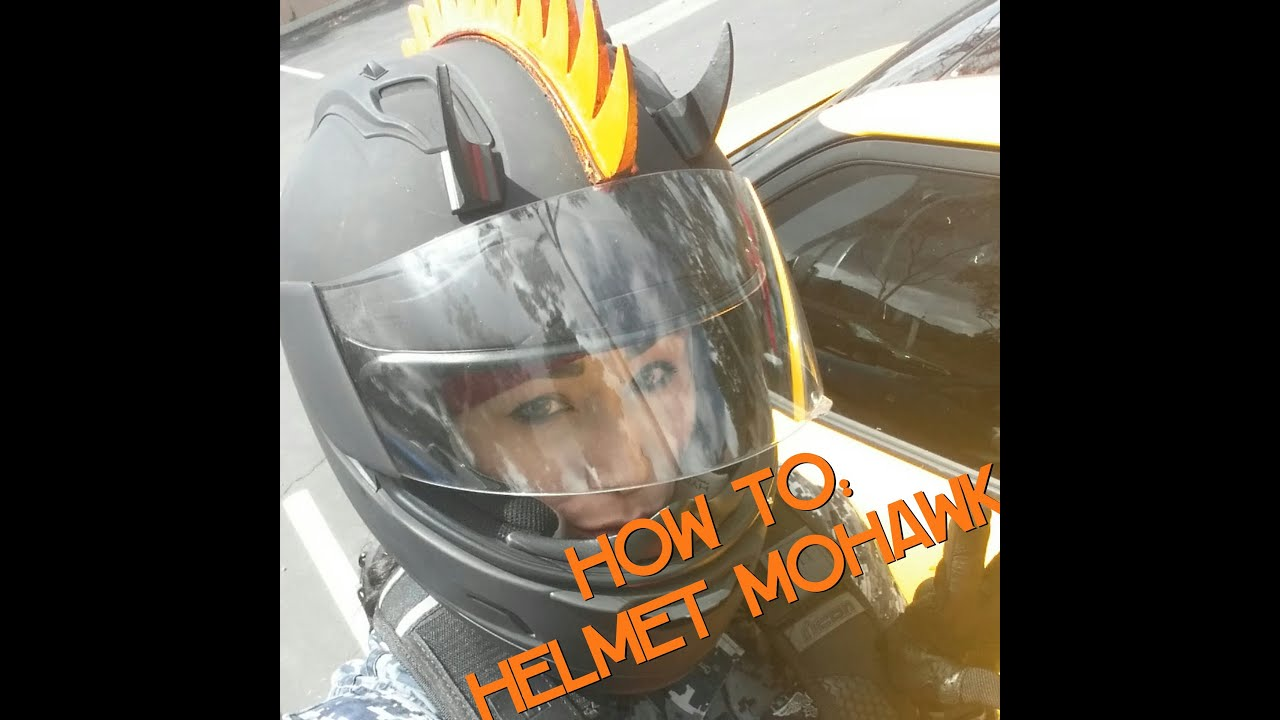 Cool Motorcycle Helmets With Mohawks a Motorcycle Helmet Mohawk