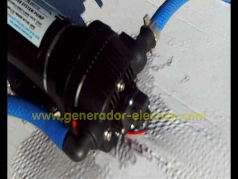 Bomba Flopower 091712 Membrana Autoaspirante