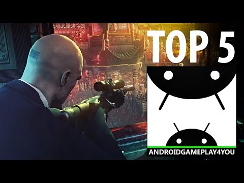 TOP 5 BEST ANDROID SNIPER GAMES 2016!