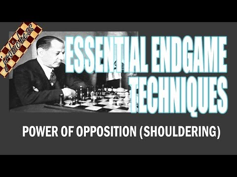 Chess Endgame Study: Power of Opposition